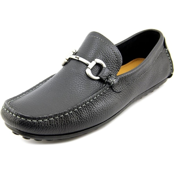 Florsheim Danforth Men Moc Toe Leather Black Loafer