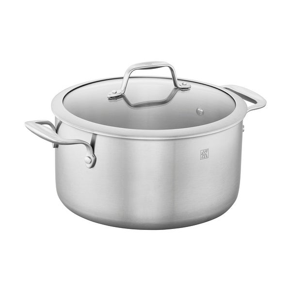 ZWILLING Spirit 3-ply 6-qt Stainless Steel Dutch Oven - Stainless Steel. Opens flyout.