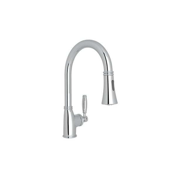Shop Rohl Mb7927lm 2 Michael Berman Pulldown Kitchen Faucet Free