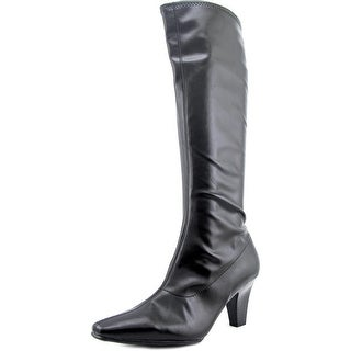 Aerosoles Risky Pizness   Pointed Toe Synthetic  Knee High Boot