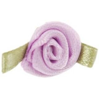 Light Orchid - Ribbon Roses 40/Pkg