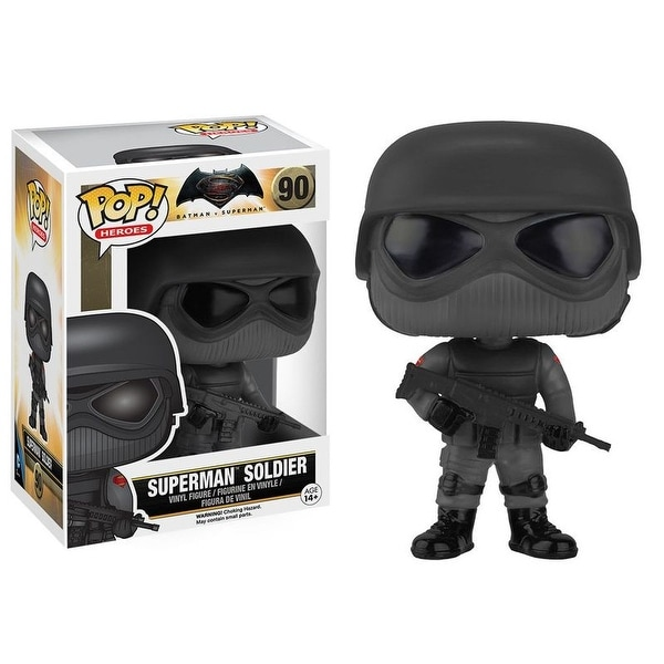 Funko POP BMvSM Superman Soldier Vinyl Figure