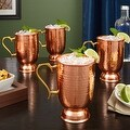 Lenox Hammered Copper Mugs, Set of 4 - Thumbnail 0