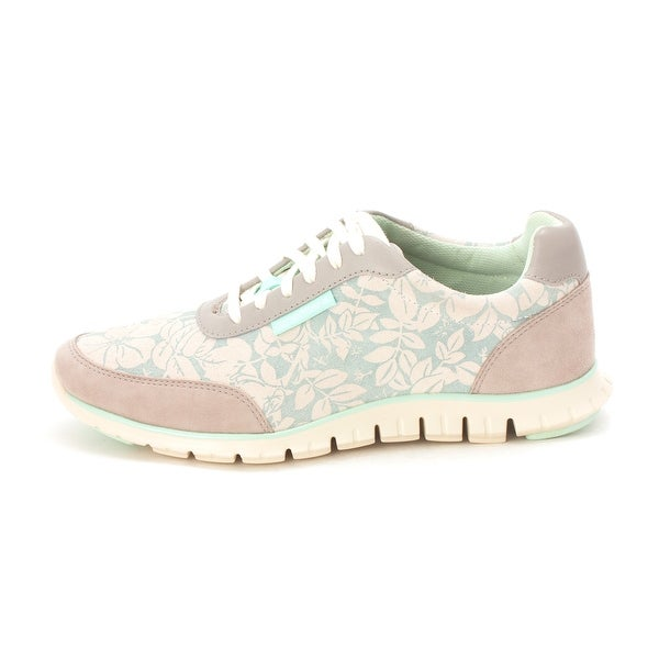 Cole Haan Womens Jazminesam Low Top Lace Up Fashion Sneakers - beige/mint - 6