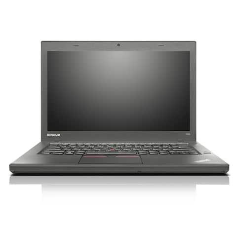"Lenovo ThinkPad T450 14.1"" Refurbished Laptop - Intel Core i5 5300U 5th Gen 2.3GHz 16GB 512GB SSD Windows 10 Pro 64-Bit - Webcam"
