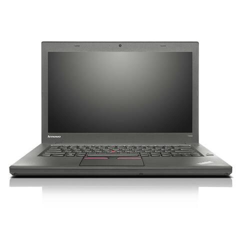 "Lenovo ThinkPad T450 14.1"" Refurbished Laptop - Intel Core i5 5300U 5th Gen 2.3GHz 8GB 512GB SSD Windows 10 Pro 64-Bit - Webcam"