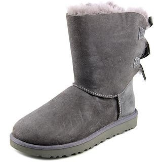 Ugg Australia Bailey Bow II Women Round Toe Suede Gray Winter Boot|https://ak1.ostkcdn.com/images/products/is/images/direct/cf59db07aae35d7fc366dcdee180f022a009a185/Ugg-Australia-Bailey-Bow-II-Women-Round-Toe-Suede-Gray-Winter-Boot.jpg?impolicy=medium