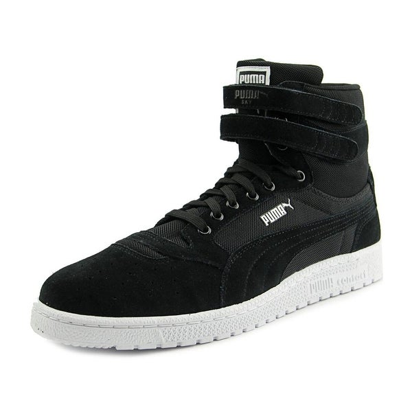 Puma Sky ll Hi Core Men Round Toe Canvas Black Sneakers
