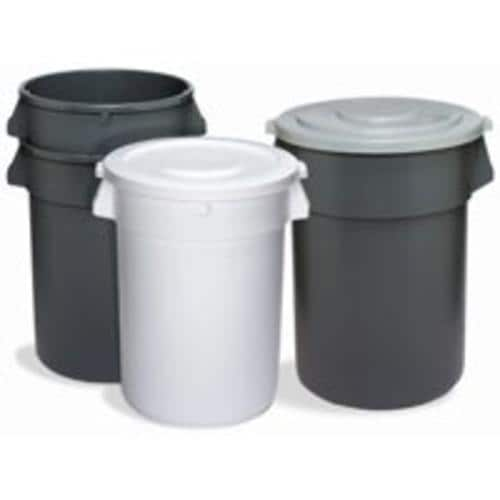 Shop Continental Commercial 1001wh Round Refuse Container