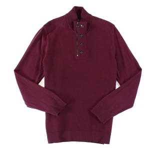 INC NEW Purple Vintage Mens Size 2XL 1/2 Zip Ribbed Mock Neck Sweater|https://ak1.ostkcdn.com/images/products/is/images/direct/cf5d7d7fc65bfaa00c5c82841bdfea36a1219159/INC-NEW-Purple-Vintage-Mens-Size-2XL-1-2-Zip-Ribbed-Mock-Neck-Sweater.jpg?impolicy=medium