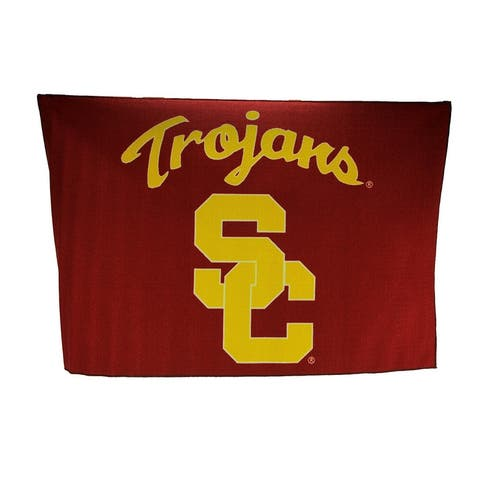University of Southern California Trojans 39 By 59 Inch Tufted Non-Skid Area Rug - 0.25 X 59 X 39 inches