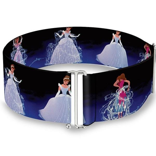 Cinderella Transformation Blue Fade Cinch Waist Belt ONE SIZE
