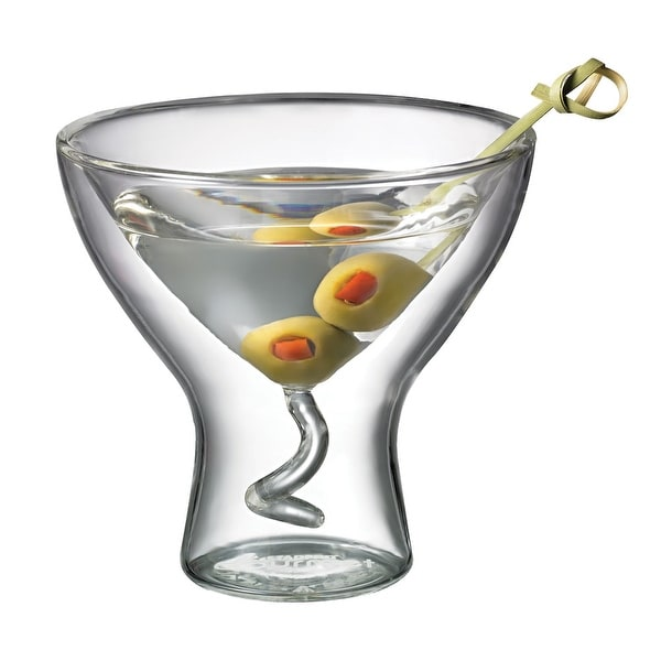 Starfrit Gourmet 7-Ounce Double Wall Martini Glass