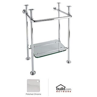 "Rohl RW2231 20"" Wash Stand with Glass Shelf less Sink"