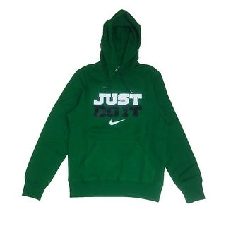 Nike Men Hoodie Sweatshirt Just Do It Logo Swoosh - Small