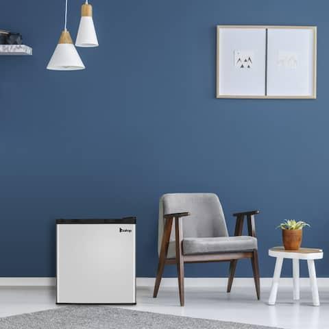 Small Household Refrigerator Freezer Double Doors Cooler