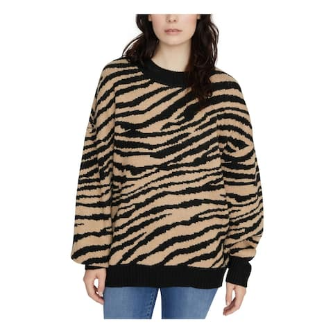 SANCTUARY Black Long Sleeve T-Shirt Sweater Size L