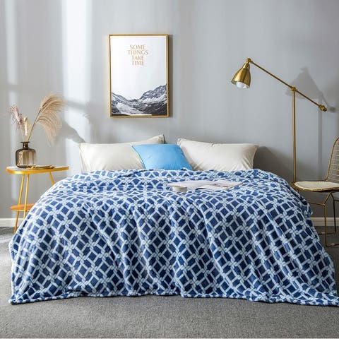 Sedona House Printed Flannel Blanket