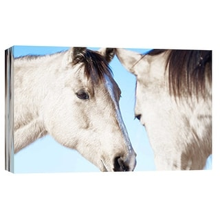 """PTM Images 9-101868  PTM Canvas Collection 8"""" x 10"""" - """"Horse Fort Ranch 21"""" Giclee Horses Art Print on Canvas"""