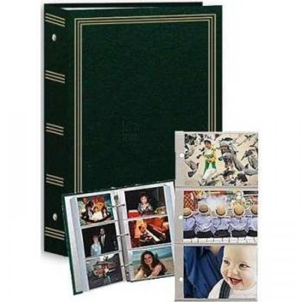 Shop Pioneer Photo Albums Pocket 3 Ring Album 4x6two Packs Green