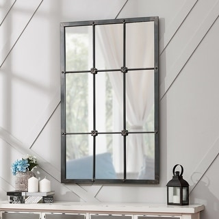 Link to FirsTime & Co.® Homestead Manor Window Mirror, Metal, 24 x 1 x 38 in, American Designed - 24 x 1 x 38 in Similar Items in Decorative Accessories