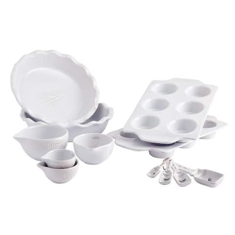 Mason Craft & More 12PC White Bakeware Set