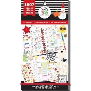 Happy Planner Sticker Value Pack-Seasonal, 1607/Pkg