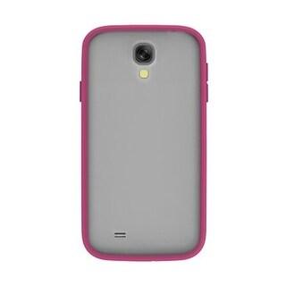 Body Glove MySuit Case for Samsung Galaxy S4 (Raspberry / Clear)