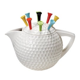 Artist Gallery Tee Pot Tea Pot, White