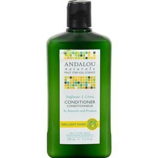 Andalou Naturals - Brilliant Shine Conditioner - Sunflower And Citrus ( 2 - 11.5 FZ)