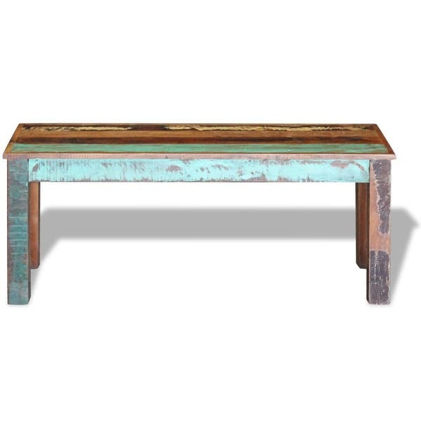 Cool Shop Vidaxl Solid Reclaimed Wood Bench Dining Seats Home Ibusinesslaw Wood Chair Design Ideas Ibusinesslaworg