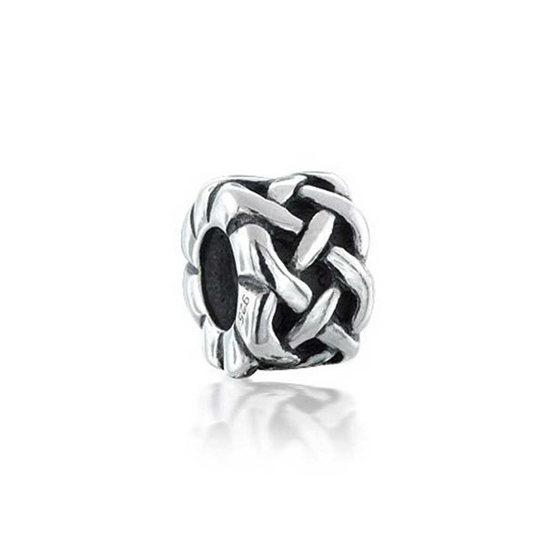 84e41e3c8 Shop Bling Jewelry 925 Sterling Silver Celtic Knots Bead Charms - On Sale -  Free Shipping On Orders Over $45 - Overstock - 18012513