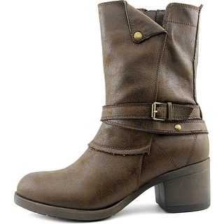 MIA Womens santiago Closed Toe Ankle Fashion Boots