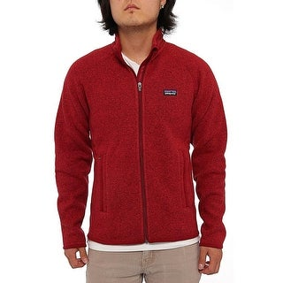 Patagonia Men Men's Better Sweater Jacket Fleece Wax Red