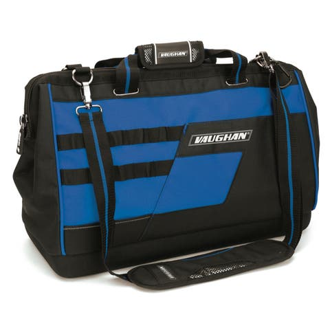 """Vaughan 20"""" Heavy Duty Wide Mouth Tool Storage Organizer Bag Case - 050025"""