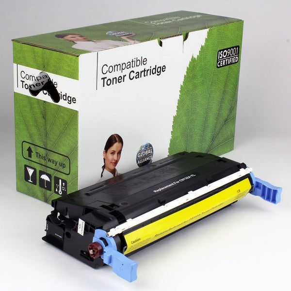 Value Brand replacement for HP 641A Yellow Toner C9722A (8,000 Yield)