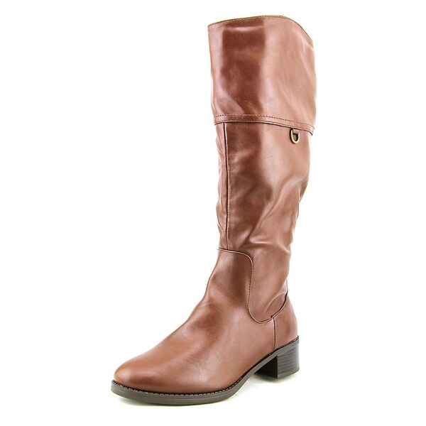 Easy Street Scotsdale Wide Calf Women Round Toe Synthetic Knee High Boot
