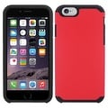 Insten Dual Layer Hybrid Rubberized Hard PC/ Silicone Case Cover for Apple iPhone 5/ 5S/ SE - Thumbnail 1