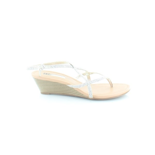 INC International Concepts Mayca 2 Women's Sandals Champagne