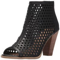 Report Womens Ronan Peep Toe Ankle Fashion Boots