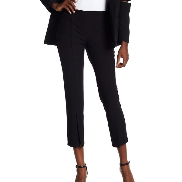 Supply & Demand Womens Flat-Front Dress Pants Stretch