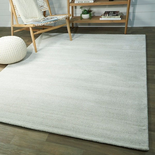 Kincaid Textured Solid Color Area Rug Overstock 31198700