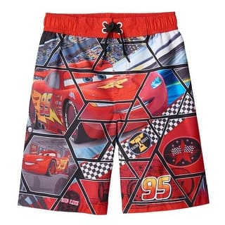 Disney Boys 4-7 Cars Swim Trunk|https://ak1.ostkcdn.com/images/products/is/images/direct/cf705faa2ac3767b2236f6f6df39195eab899515/Disney-Boys-4-7-Cars-Swim-Trunk.jpg?impolicy=medium