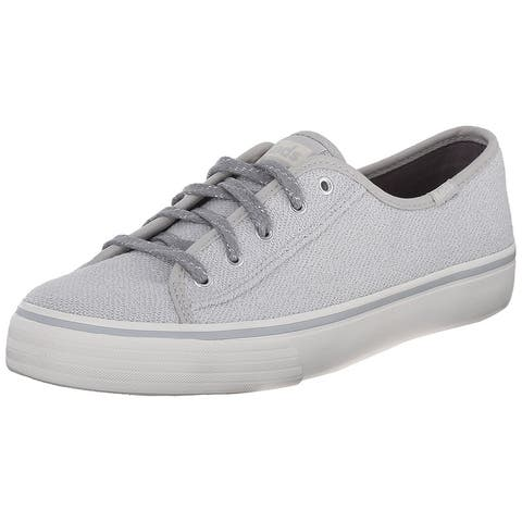 Keds Womens Double Up Metallic Low Top Lace Up Fashion Sneakers