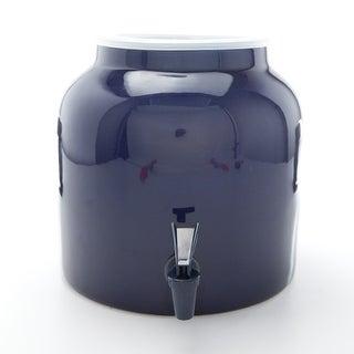 Bluewave Lifestyle PKDS121 Solid Blue Design Water Dispenser Crock