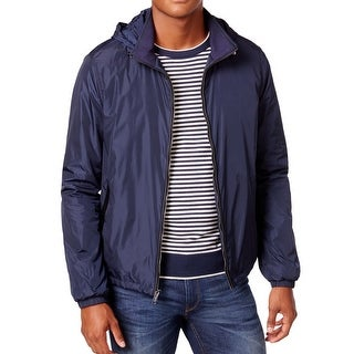 Michael Kors NEW Midnight Blue Mens Size XL Windbreaker Jacket