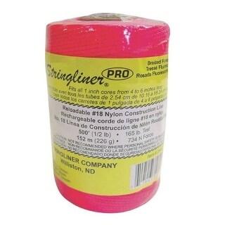 Stringliner 35462 Pro Reloadable Nylon Line Refill, 500'