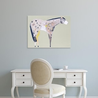 Easy Art Prints Anthony Grant's 'Horse No. 60' Premium Canvas Art