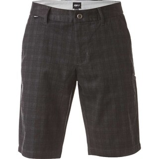Fox Racing 2017 Men's Essex Plaid Short - 19040 - charcoal (More options available)