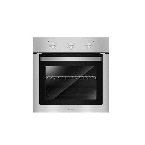 """Empava 24"""" Electric Single Wall Oven with Basic Broil/Bake Functions"""